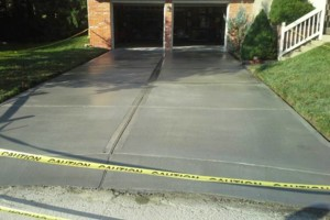 Photo #2: NICOLAISEN CONCRETE WORK - Replace or Repair - Driveways, Walks etc...
