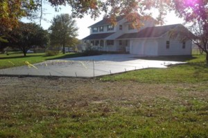 Photo #1: NICOLAISEN CONCRETE WORK - Replace or Repair - Driveways, Walks etc...