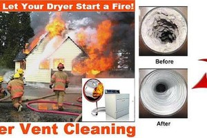 Photo #1: Mr. Lint. Dryer vent duct cleaning