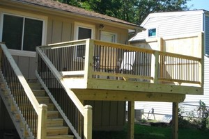Photo #3: Spring is HERE... Get your wood deck or fence repaired!