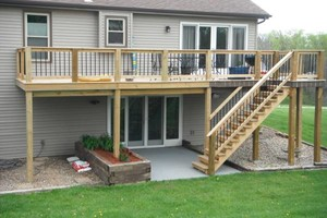 Photo #2: Spring is HERE... Get your wood deck or fence repaired!