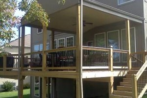 Photo #1: Spring is HERE... Get your wood deck or fence repaired!