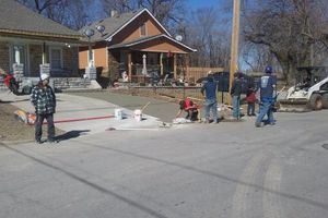 Photo #3: Concrete replacement and Property renovation