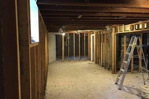Photo #3: Drywall repair & installation