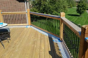 Photo #19: Deck/fence staining and repair, also home remodeling