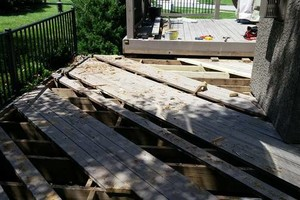 Photo #17: Deck/fence staining and repair, also home remodeling