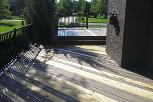 Photo #16: Deck/fence staining and repair, also home remodeling