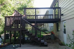 Photo #14: Deck/fence staining and repair, also home remodeling