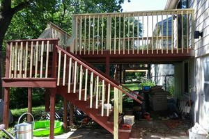 Photo #13: Deck/fence staining and repair, also home remodeling