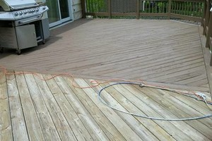 Photo #4: Deck/fence staining and repair, also home remodeling