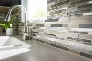 Photo #7: Tile flooring, showers, and backsplashes