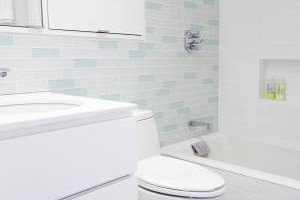 Photo #2: Tile flooring, showers, and backsplashes