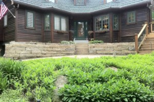 Photo #20: Big Stone Retaining Walls, Ponds and water features