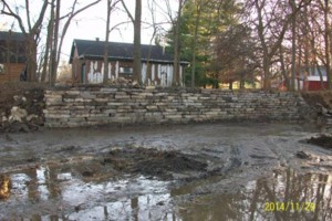 Photo #19: Big Stone Retaining Walls, Ponds and water features
