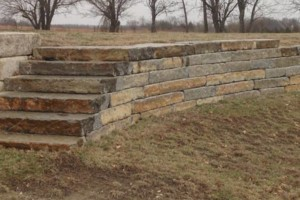 Photo #17: Big Stone Retaining Walls, Ponds and water features