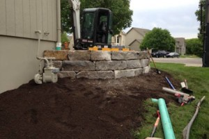 Photo #16: Big Stone Retaining Walls, Ponds and water features
