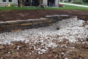 Photo #15: Big Stone Retaining Walls, Ponds and water features