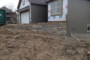 Photo #14: Big Stone Retaining Walls, Ponds and water features