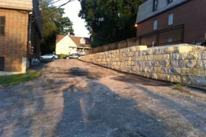 Photo #13: Big Stone Retaining Walls, Ponds and water features