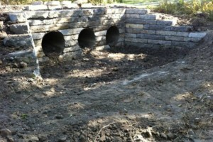 Photo #11: Big Stone Retaining Walls, Ponds and water features