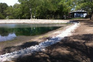 Photo #10: Big Stone Retaining Walls, Ponds and water features