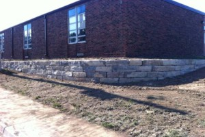 Photo #8: Big Stone Retaining Walls, Ponds and water features