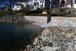 Photo #7: Big Stone Retaining Walls, Ponds and water features