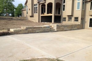 Photo #6: Big Stone Retaining Walls, Ponds and water features