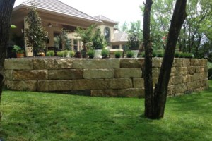 Photo #5: Big Stone Retaining Walls, Ponds and water features