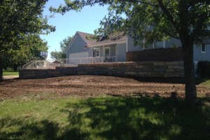 Photo #3: Big Stone Retaining Walls, Ponds and water features