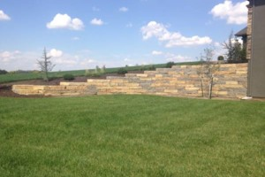 Photo #2: Big Stone Retaining Walls, Ponds and water features