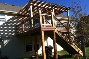 Photo #12: Decks, Pergolas, Screened Porches by The Deck Pro