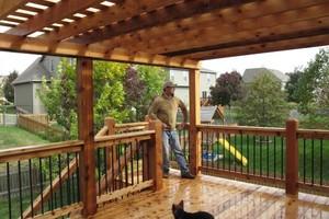 Photo #9: Decks, Pergolas, Screened Porches by The Deck Pro