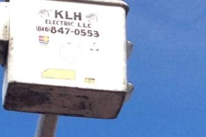 Photo #4: Electrician (KLH ELECTRIC.) Need Someone With a Bucket Truck? Call KLH!!