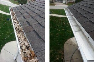 Photo #2: Gutters: Clean, Cover, Repair or Replace Them