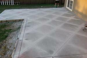 Photo #2: CONCRETE SERVICE AND DIRT WORK - SIDEWALKS, PATIOS, BASEMENTS FLOORS