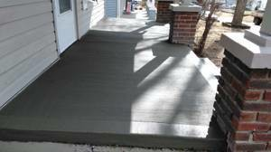 Photo #3: CONCRETE SERVICE AND DIRT WORK - SIDEWALKS, PATIOS, BASEMENTS FLOORS