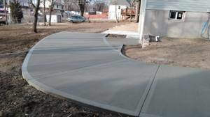 Photo #5: CONCRETE SERVICE AND DIRT WORK - SIDEWALKS, PATIOS, BASEMENTS FLOORS