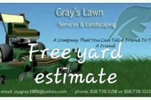 Photo #1: Gray's Lawn Care!