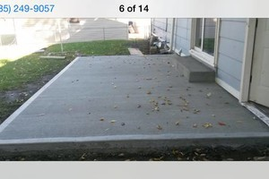 Photo #2: Concrete Flatwork / retaining walls