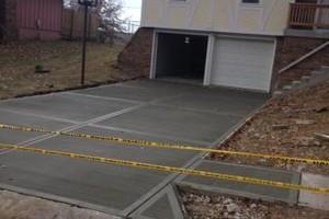 Photo #1: Concrete Flatwork / retaining walls