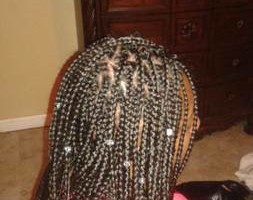 Photo #2: Open 24/7. $85 Box Braids, Kinkys, Senegalese and more
