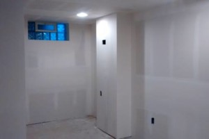 Photo #4: Yoni Construction. A job nicely done!!! Sheetrock, mudding and taping