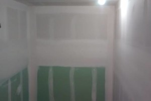 Photo #1: Yoni Construction. A job nicely done!!! Sheetrock, mudding and taping