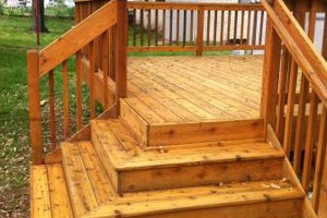 Photo #9: Deck staining/cleaning/repairs