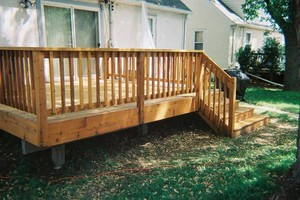 Photo #8: Deck staining/cleaning/repairs