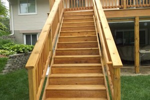 Photo #6: Deck staining/cleaning/repairs
