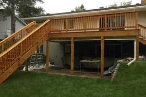 Photo #5: Deck staining/cleaning/repairs