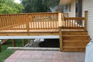 Photo #4: Deck staining/cleaning/repairs