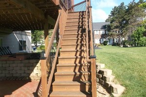 Photo #3: Deck staining/cleaning/repairs